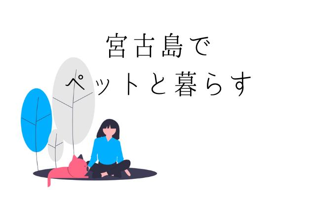 【苦労】宮古島でペットを飼う【安心】