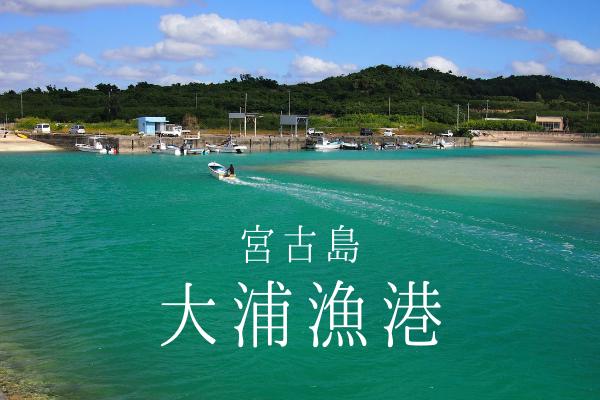 【宮古島】大浦漁港の釣りポイント【大浦湾】